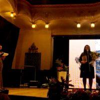 Elena Roxana Almasan pe podiumul premianților
